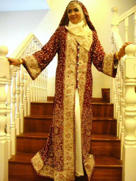 Muslim Wedding Dress Code For Bride : Fashion designer dubai wedding dresses wear